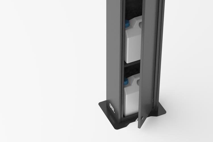 2020 Ergoline Qbl Hand Sanitizer Dispensers Image 07 Small Frittstående Skap
